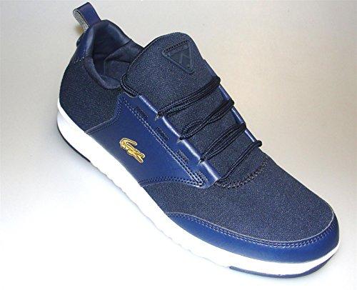 LACOSTE Men's L.ight-01 Sneaker (Dk Blue/Dk Blue 11.0 M)