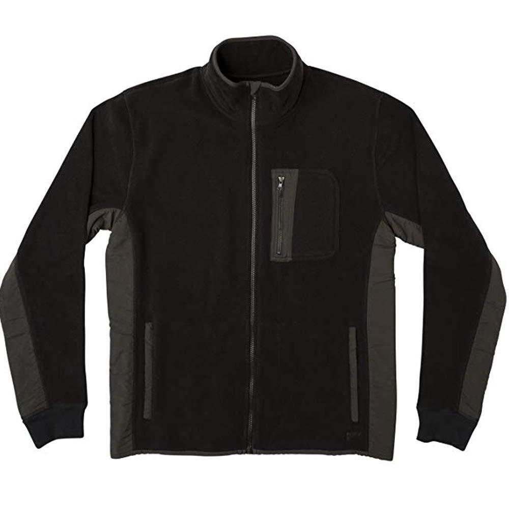 RVCA Mens Theros Fleece Zip Jacket