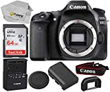 Canon EOS 80D DSLR Camera With Promotional SanDisk Ultra 64GB...