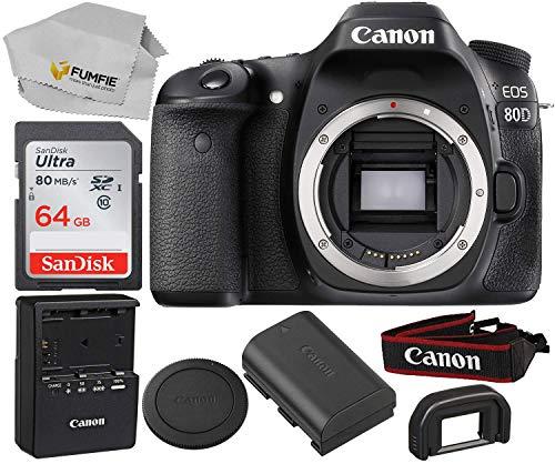 Canon EOS 80D (Body) Black