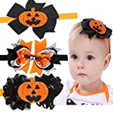 Halloween Costume Decorations Pumpkin Bat head band for Kids Baby Girls Accessories Toddlers