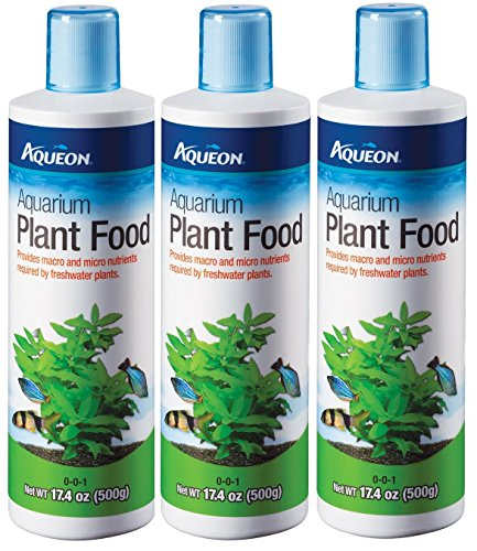 - (3 Pack) Aqueon Water Care Aquarium Plant Food, 17.4-Ounce