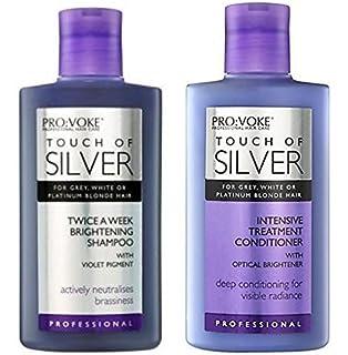 PROVOKE Touch of Silver Colour Care Shampoo 200ml  Amazon.co.uk  Beauty 2c32c2c05ffd