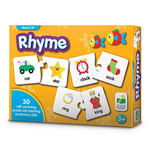 The Learning Journey Match It! Rhyme (Match Word)