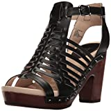 Jambu Women's Valentina Platform Dress Sandal, Black, 6.5 M US