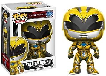 Funko- Yellow Ranger Figura de Vinilo (12344)