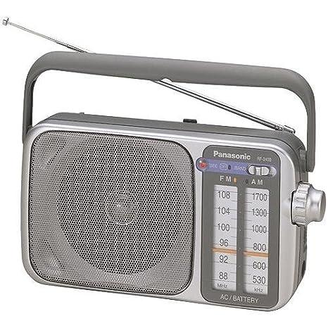 Review Panasonic RF-2400D AM/FM Radio,