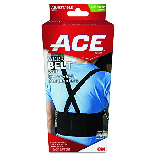 ACE Work Belt, America's Most Trusted Brand of Braces and Supports, Money Back Satisfaction Guarantee - Ace Belt