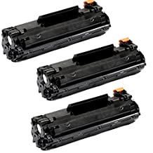 Shopcartridges® 3 Packs HP 83X CF283X (HP#83A CF283A 83A high yield 2.5K pages) Premium Quality New Compatible Black BK Toner Cartridge for HP LaserJet Pro M201dw, M201n, MFP M125a, MFP M125nw, MFP M125rnw, MFP M127fn, MFP M127fw, MFP M225dn, MFP M225dw