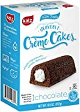 #9: Katz Gluten free Heavenly Chocolate Crème Cakes, 8.8 Ounce, Certified Gluten Free - Kosher - Dairy, Nut, and Soy free - (Pack of 1)