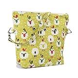 Yarn Pop Totable Knitting Bag - Sheep & Bird