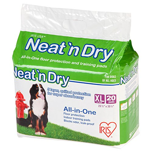 Neat 'n Dry Premium Pet Training Pads, Extra Large, 23.5