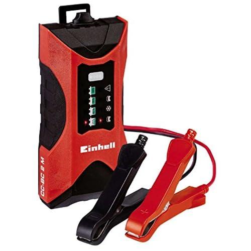 EINHELL Chargeur de batterie automobile CC-BC 2 M (Alimentation : 220-240 V, 50 Hz, Tension de charge : 6 V/ 12V, Pour batteries de 3 à 60 Ah, Chargeur de batterie intelligent, Chargeur universel pour tout type de batt outlet