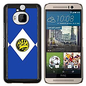 LECELL--Funda protectora / Cubierta / Piel For HTC One M9Plus M9+ M9 Plus -- TRICERATOPS --