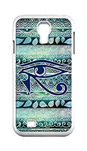 Cool Painting eye of horus Snap-on Hard Back Case Cover Shell for Samsung GALAXY S4 I9500 I9502 I9508 I959 -1303
