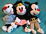 Animaniacs Beanie Set - Yakko, Wakko, and Dot