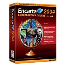 Microsoft Encarta Deluxe 2004 3 CD