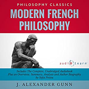 Modern French Philosophy Audiobook