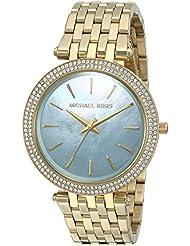 Michael Kors Womens Darci Gold-Tone Watch MK3498