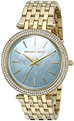 Michael Kors Watches Darci Gold-Tone 3 Hand Watch