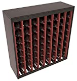 Wine Racks America Ponderosa Pine 64 Bottle Two Tone Deluxe (Black/Cherry Stain) Review