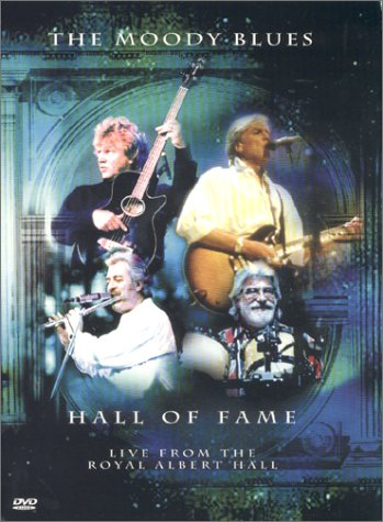 DVD : The Moody Blues - The Moody Blues: Hall of Fame: Live From the Royal Albert Hall (DVD)