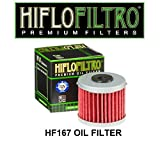 scooter HiFlo HF167 LML125 Star 4T CVT 4T 150 Star CVT 4T Replacement Oil Filter