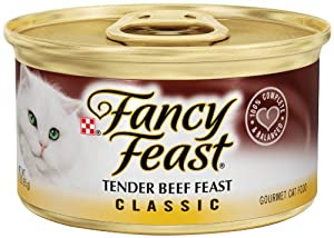 Purina Fancy Feast Classic Gourmet Wet Cat Food- 24-3 oz. Cans
