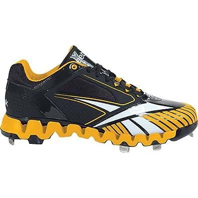 Reebok Men's Zig Cooperstown Quag 2.0 Shoe,Black/Gold,16 M US