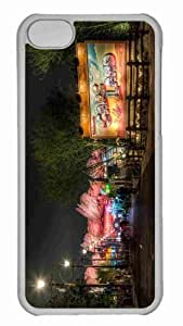 Customized iphone 5C PC Transparent Case - Welcome To Cars Land Personalized Cover