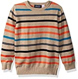 Baby : The Children's Place Baby Boys' Multi-Stripe Sweater, H/T Straw, 12-18MOS