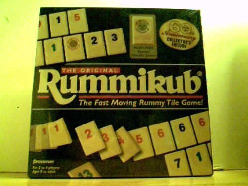 The Original Rummikub - The Fast Moving Rummy Tile Game! 60th Anniversary Collector's (60th Anniversary Collectors)