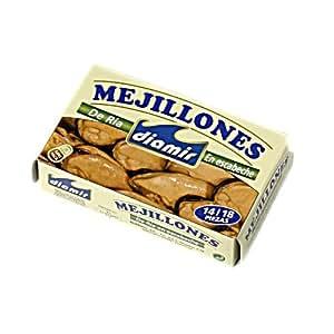 Amazon.com : Mejillones - Miesmuscheln - mariniert : Grocery ...