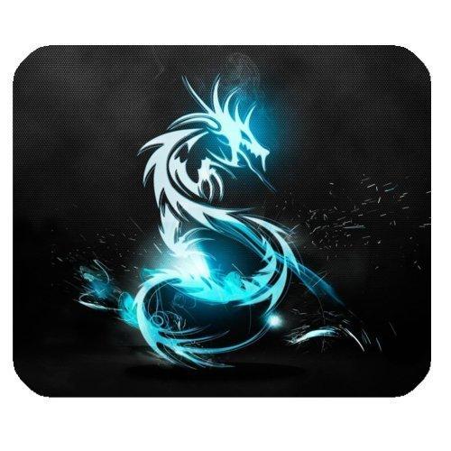 Mousepad Unique Design Mouse Pad Cool Blue Dragon Gaming Mou