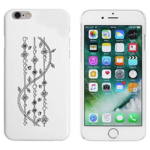 Weiß 'Gemusterter Hintergrund' Hülle für iPhone 6 u. 6s (MC00005098)