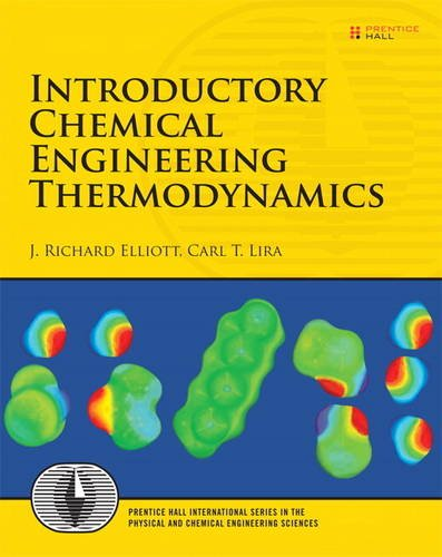 Introductory Chemical Engineering Thermodynamics: Draft Copy: J ...
