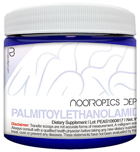 Palmitoylethanolamide (PEA) Powder 60 Grams   Supports Pain Relief