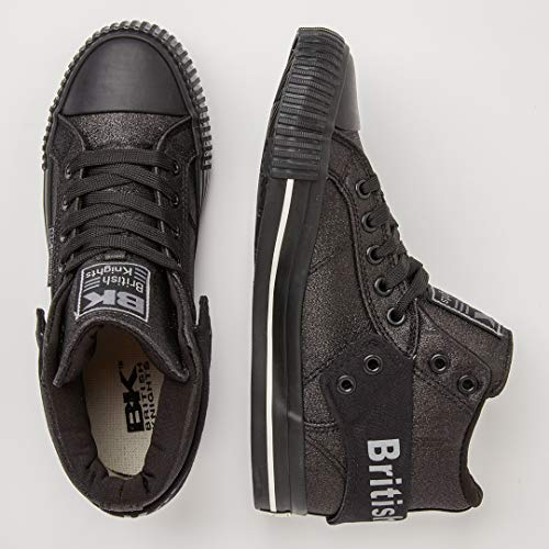 Collo black Sneaker 01 Alto Donna British Knights A black Roco Nero qExIAz