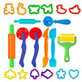 Pandapia Play Dough Tools Set with Molds Models 20 PCS