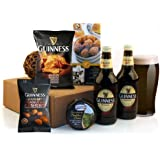 Guinness Gifts - This Popular Beer Gift includes 2 Bottles of The Magic of Guinness with Savoury Snacks and Cheese