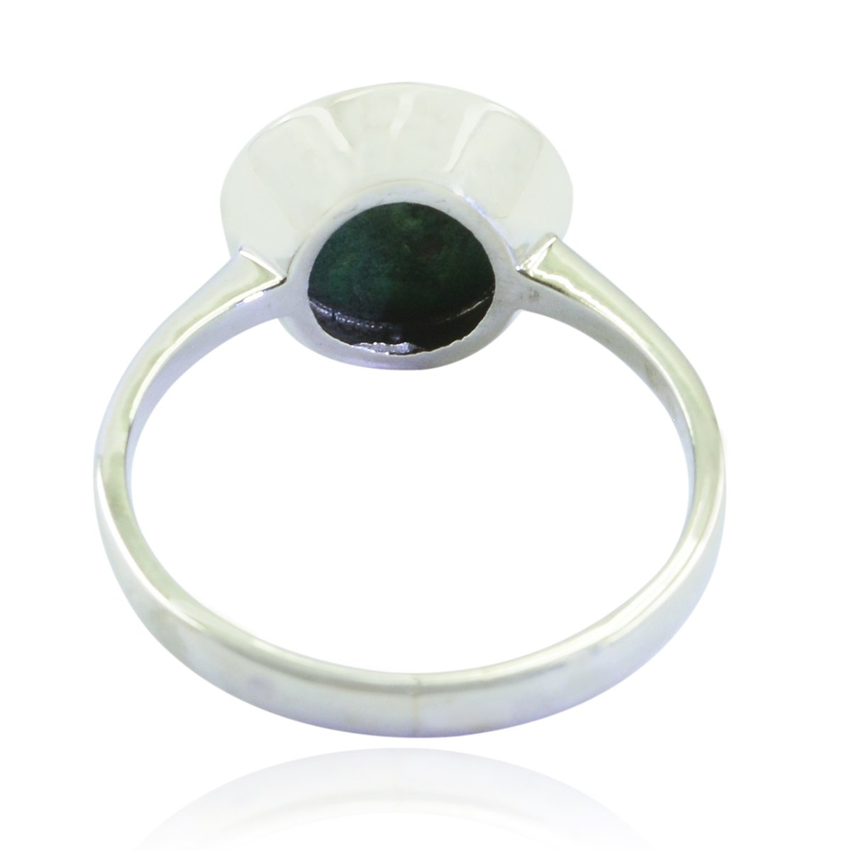 Ornaments /& Accents Good Selling Shops Gift for mom Birthday wrap Ring Lovely Gemstones Round cabochon Malachite Ring Solid Silver Green Malachite Lovely Gemstones Ring