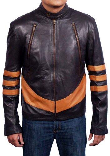 Men's Xman Wolverine Sheep Soft Leather Jacket
