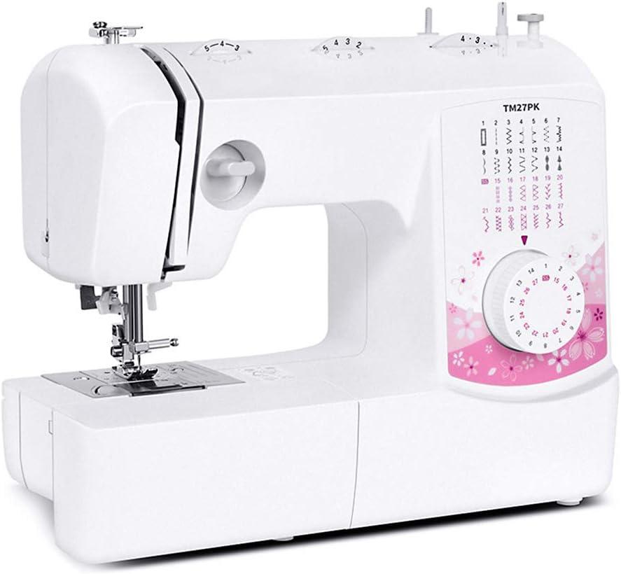 Máquina de coser portátil eléctrica, máquina de coser multifunción ...