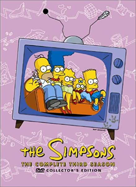 Amazon Com The Simpsons The Complete Third Season Dan Castellaneta Nancy Cartwright Julie Kavner Yeardley Smith Harry Shearer Hank Azaria Pamela Hayden Tress Macneille Karl Wiedergott Maggie Roswell Russi Taylor Marcia Wallace