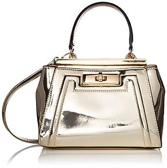 Aldo Sugarland Top Handle Handbag, Gold: Handbags: Amazon.com