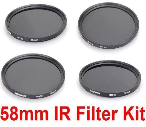 NEEWERR 58MM Infrared IR Filter Kit
