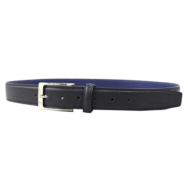 Set Cintura similpelle e portafoglio uomo pelle in box Armata di mare h943.35 bl