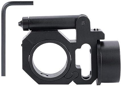 4Slot Metal Flat top 20mm Picatinny Rail Mount Riser Base/&Bubble Level for Rifle