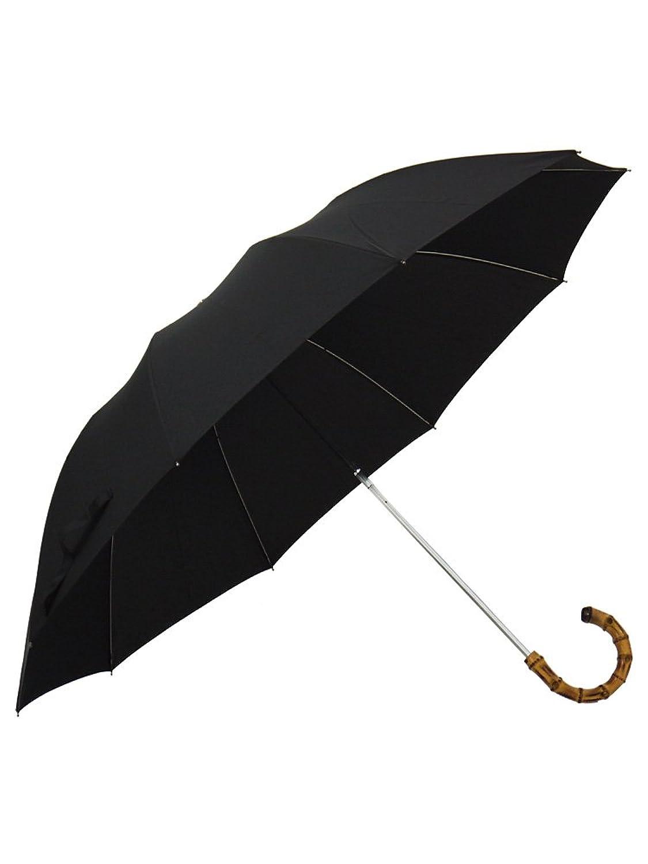 (フォックスアンブレラズ) FOX UMBRELLAS メンズ 折りたたみ傘 TEL4 WHANGHEE CROOK HANDLE BLACK [並行輸入品] B01441VFMWブラック
