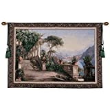 Design Toscano Lodge on Lake Como Wall Tapestry, Full Color